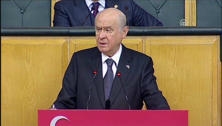 Bahçeli: 'Kurdistan için adeta son rötuşlar yapılmaktadır'