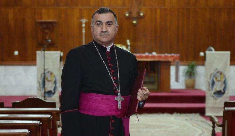 """""""Hristiyanlığın geleceğinin tehdit altında olduğu Irak'ta, Kürtlerin desteğinin devamı için dua ediyoruz"""""""