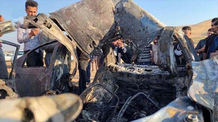 TSK, Zaho'da PKK'ye ait aracı bombaladı