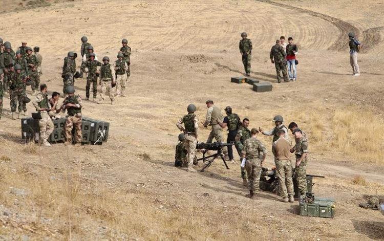 İngiliz SAS komandoları ile Peşmerge'den ortak IŞİD harekatı