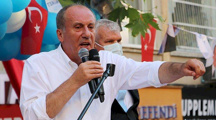 Muharrem İnce Ağrı'da konuştu: Sıkışmışsınız AKP ile HDP arasına, size…