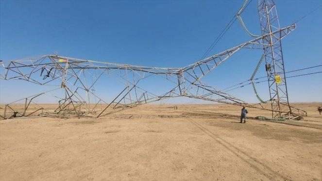 IŞİD'den elektrik kulelerini havaya uçurma girişimleri