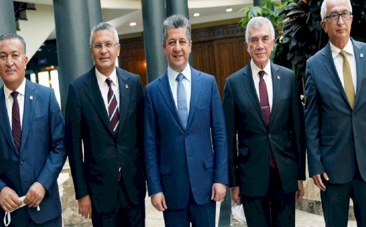 CHP heyetinin Erbil ziyareti: Partinin Kürt politikası değişiyor mu?