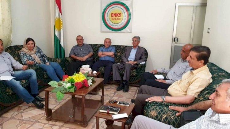 ABD Dışişleri yetkilisi ile ENKS Kürt diyaloğunu görüştü