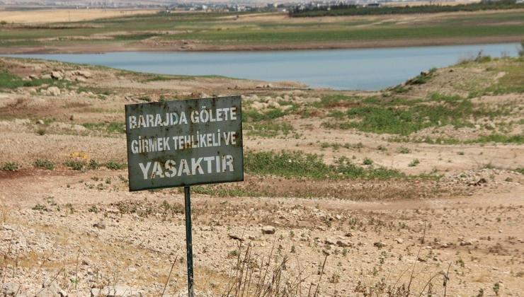Adıyaman'da kuraklık alarmı: Kent merkezine içme suyu dönüşümlü olarak veriliyor